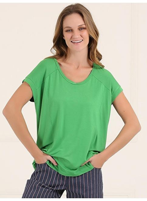 Faik Sönmez Tişört Yeşil
